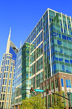 SunTrust Plaza and 333 Commerce Tower, Nashville, Tennessee, United States of America, North America