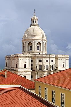 National Pantheon (Santa Engracia Church) in the Alfama District, Lisbon, Portugal, Europe