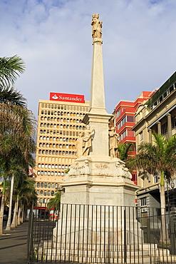 Plaza de la Candelaria, Santa Cruz de Tenerife, Tenerife Island, Canary Islands, Spain, Europe, Europe