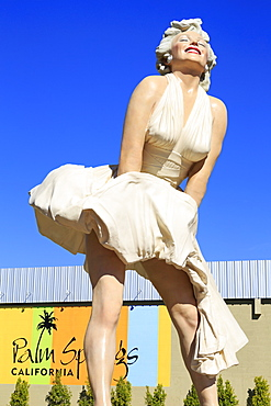 Forever Marilyn by Seward Johnson, Palm Canyon Drive, Palm Springs, California, United States of America, North America