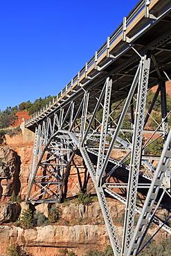 Midgley Bridge in Sedona, Arizona, United States of America, North America