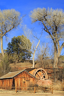 Water Wheel at Red Rock Crossing, Sedona, Arizona, United States of America, North America
