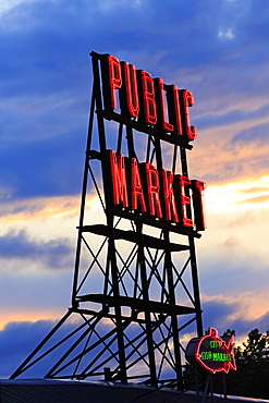 Pike Place Market, Seattle, Washington State, United States of America, North America