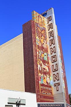 Historic Paramount Theatre, Oakland, California, United States of America, North America