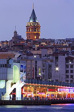 Galata Bridge, Istanbul, Turkey, Europe