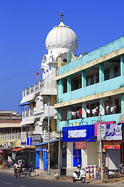 Sikh Temple in Port Blair, Andaman Islands, India, Asia