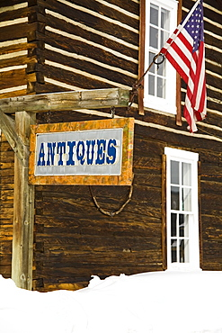 Antique store in Frisco Historic Park, City of Frisco, Rocky Mountains, Colorado, United States of America, North America