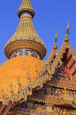 Wat Chamongkron Royal Monastery, Pattaya City, Thailand, Southeast Asia, Asia