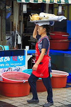 Fish Market, Nampo District, Busan, South Korea, Asia