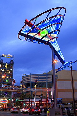 Fremont East District, Las Vegas, Nevada, United States of America, North America