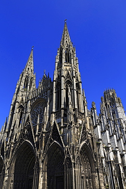St. Ouen Abbey Church, Rouen, Normandy, France, Europe