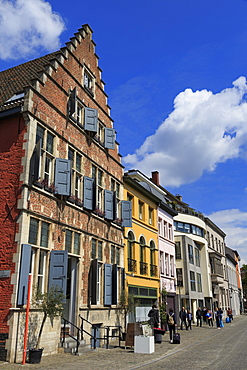 Kraanlei Street, Ghent, East Flanders, Belgium, Europe