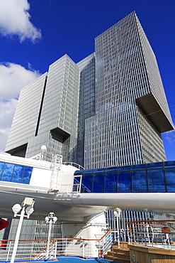 De Rotterdam Towers, Wilhelminaplein, Rotterdam, South Holland, Netherlands, Europe