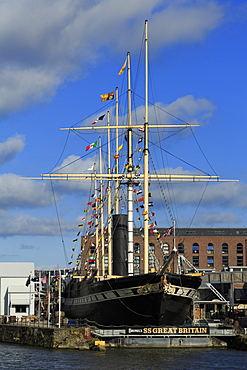 SS Great Britain Museum, Bristol City, England, United Kingdom, Europe