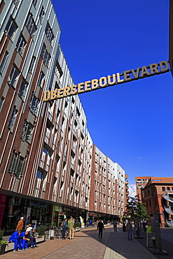 Ubersee Quarter, HafenCity District, Hamburg, Germany, Europe