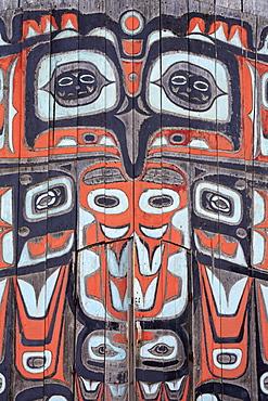 Chilkat Tribal House, Fort Seward, Haines, Lynn Canal, Alaska, United States of America, North America