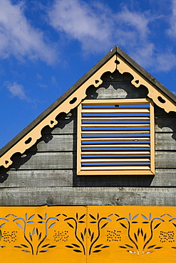 Architectural detail in Montego Bay, Jamaica, West Indies, Caribbean, Central America