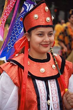 Golden Dragon Parade, Chinese New Year, Los Angeles, California, United States of America, North America