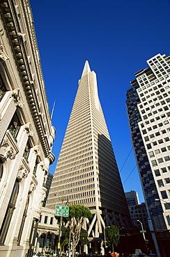TransAmerica Pyramid, Financial District, San Francisco, California, United States of America, North America