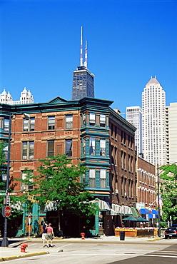 Superior Street, Gallery district, Chicago, Illinois, United States of America, North America