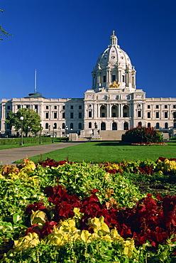 State Capitol, St. Paul, Minnesota, United States of America, North America