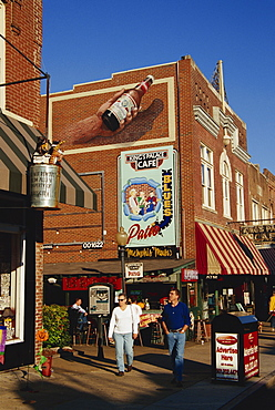 Beale Street, Memphis, Tennessee, United States of America, North America