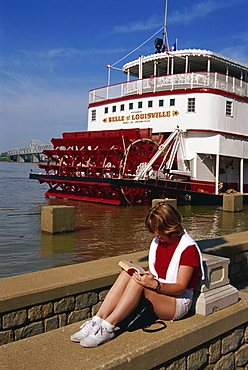 Belle of Louisville riverboat, Louisville, Kentucky, United States of America, North America