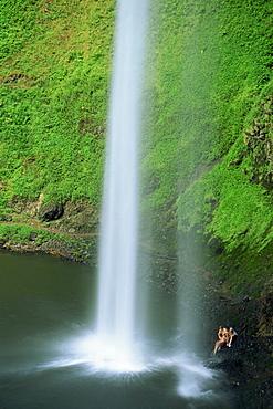South Falls, Silver Falls State Park, Oregon, United States of America, North America