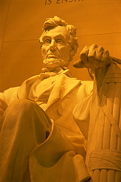 Abraham Lincoln Memorial, National Mall, Washington D.C., United States of America, North America