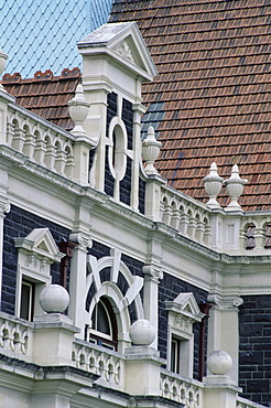 Historic railway station, Dunedin, Otago, South Island, New Zealand, Pacific