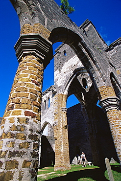 Unfinished church, St. George, Bermuda, Central America