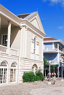 Old Courthouse, Civic Center, Montego Bay, Jamaica, West Indies, Caribbean, Central America