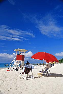 Beach, Montego Bay, Jamaica, West Indies, Caribbean, Central America