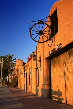 Cavalliere blacksmith shop, Old Town, Scottsdale, Greater Phoenix area, Arizona, United States of America, North America