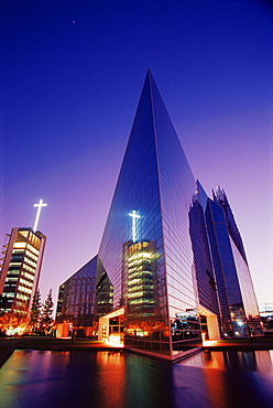 Crystal Cathedral, Garden Grove, Orange County, California, United States of America, North America