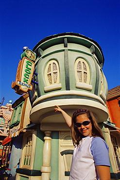 Toontown, Disneyland, Anaheim, Orange County, California, United States of America, North America