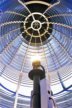 Lens, St. Johns Lighthouse, County Donegal, Ulster, Republic of Ireland (Eire), Europe