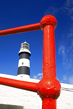 Old Head of Kinsale lighthouse, County Cork, Munster, Republic of Ireland, Europe