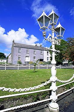 Georgian houses, Birr Town, County Offaly, Leinster, Republic of Ireland, Europe