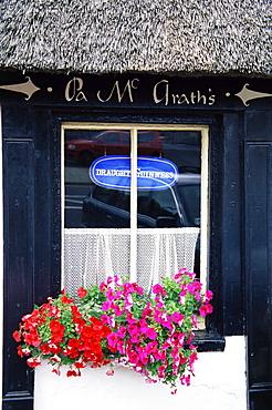 Pub, Boher village, County Limerick, Munster, Republic of Ireland, Europe
