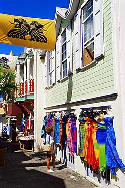 Old Street, Philipsburg, St. Maarten, West Indies, Caribbean, Central America