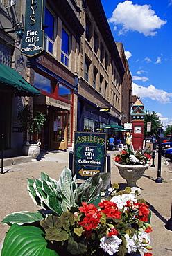Old market district, Omaha, Nebraska, United States of America, North America