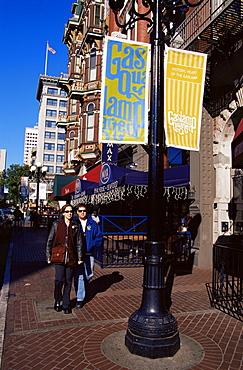 Fifth Street, Gaslamp Quarter, San Diego, California, United States of America, North America