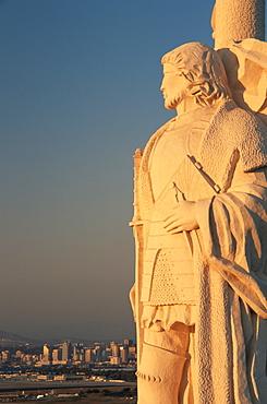 Cabrillo's statue, Cabrillo National Monument, Point Loma, San Diego, California, United States of America, North America