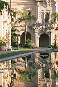 Lily pond, Balboa Park, San Diego, California, United States of America, North America