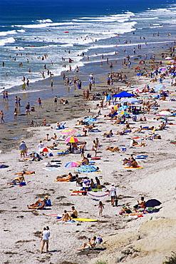 Moonlight Beach, Encinitas, North County, San Diego, California, United States of America, North America