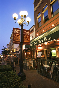 Gaslamp district, Downtown San Diego, California, United States of America, North America