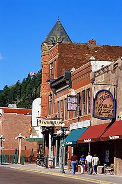 Main Street, Deadwood, Black Hills area, South Dakota, United States of America, North America