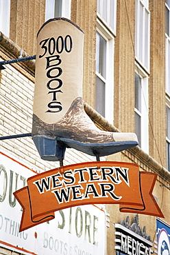 Western store, City of Mitchell, South Dakota, United States of America, North America