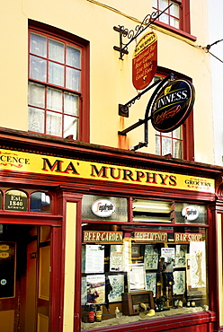Bar, grocery shop and off licence, New Street, Bantry, Wild Atlantic Way, County Cork, Munster, Republic of Ireland, Europe